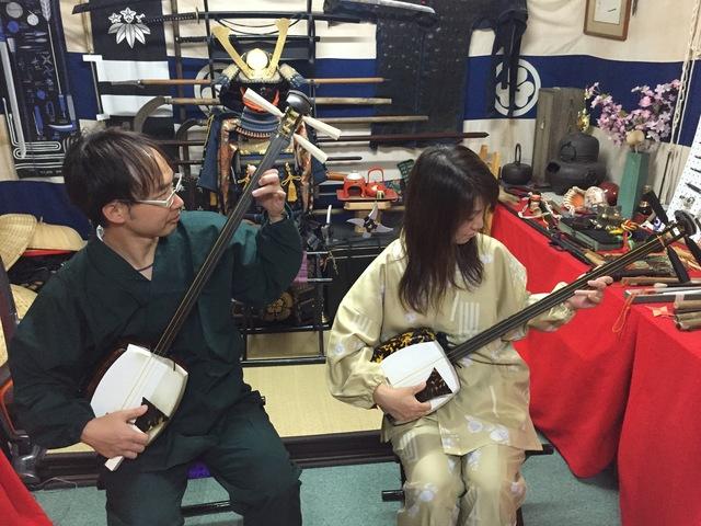 【ペア特典付_先着5名様】今度のデートは、芸ゴトの街・浅草で楽しい津軽三味線。