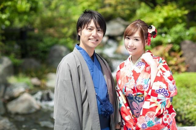 【ペア特典付】手ぶらでOK!着物レンタルの方法はこちら。2人一緒に着物で秋の浅草デート