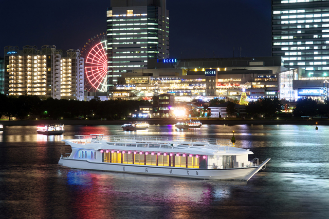 (Daily operation) With couples, with friends, with family!! Enjoy a special cruising night out on Tokyo Bay!!! (Chuo-ku)