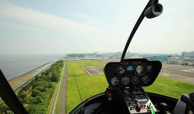 【東京/ヘリコプター遊覧】東京スカイクルーズ:都会の町並みを空から