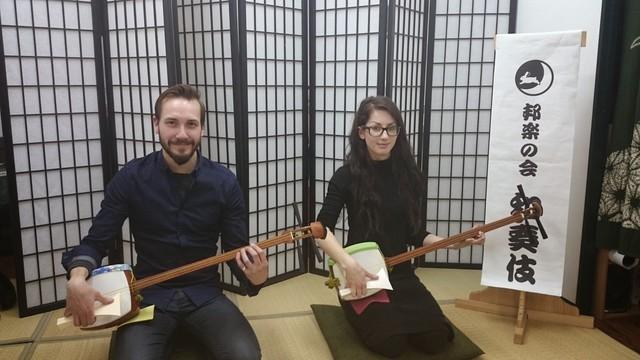 【大阪/三味線体験】お座敷遊びもタイケン出来ちゃう!1時間で日本の伝統芸能が楽しめます♪